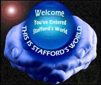 Stafford's World Logo
